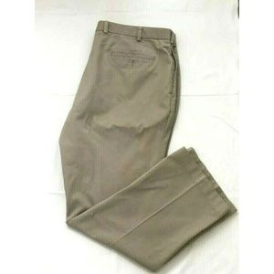 Brooks Brothers Mens Flat Front Chinos Pants Sz 42